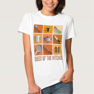 king OF the kitchen cook boss of utilities Tee Shirt