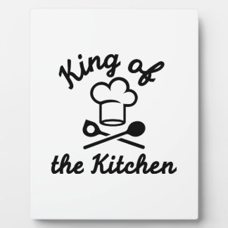 King of the kitchen plaques