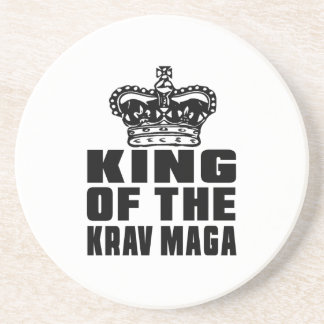 KING OF THE KRAV MAGA DRINK COASTERS