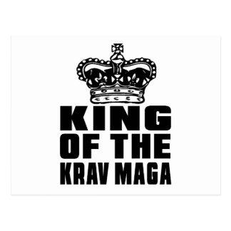 KING OF THE KRAV MAGA POSTCARD
