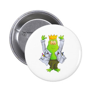 King of the Lab 2 Inch Round Button