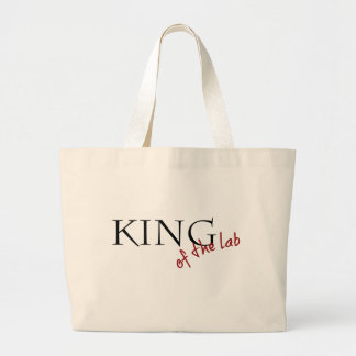 King of the Lab Tote Bag