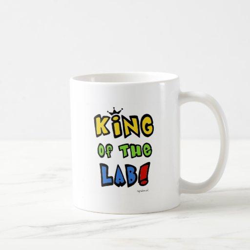 King of the Lab Classic White Coffee Mug