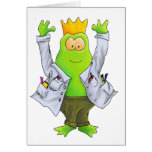 King of the Lab Greeting Card