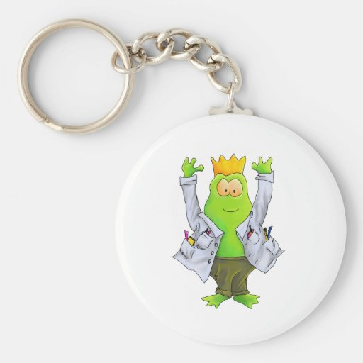 King of the Lab Key Chains