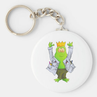 King of the Lab Keychain