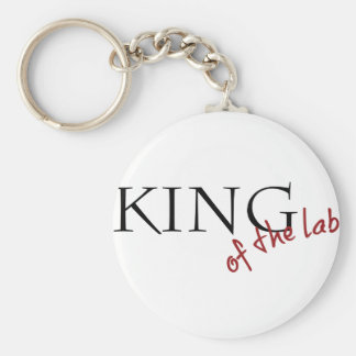 King of the Lab Key Chain