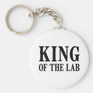 King of the Lab - Keychain