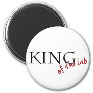King of the Lab Magnet