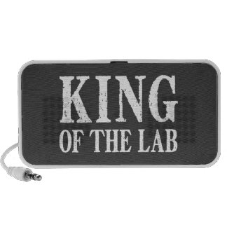 King of the Lab Notebook Speaker