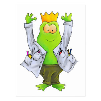 King of the Lab Post Card