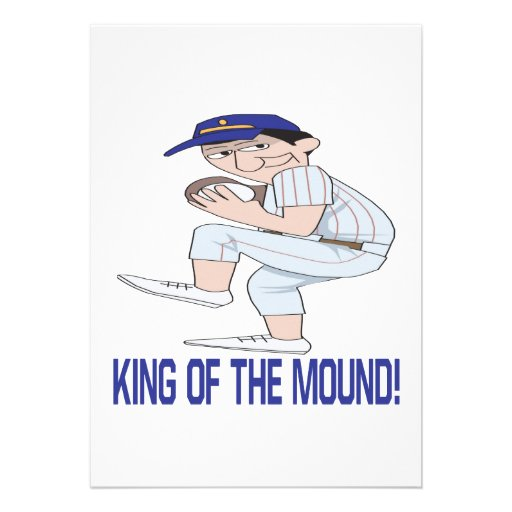 King Of The Mound Custom Announcement
