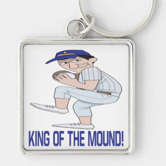 King Of The Mound Keychain