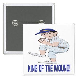 King Of The Mound Pin