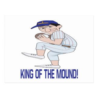 King Of The Mound Postcard