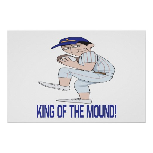 King Of The Mound Poster