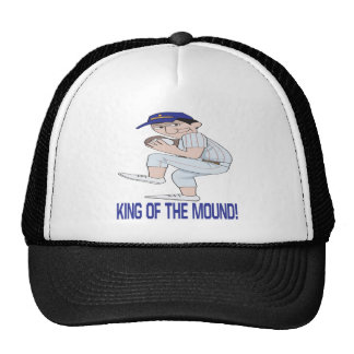 King Of The Mound Trucker Hats