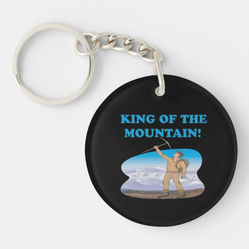 King Of The Mountain Acrylic Keychain