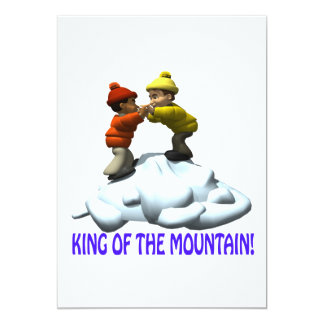 King Of The Mountain Card