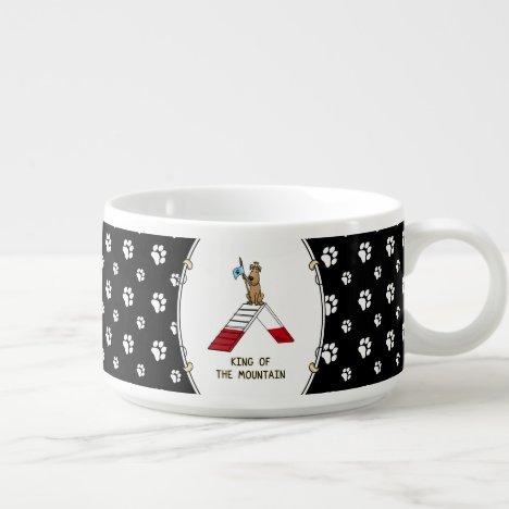 King of the Mountain Dog Agility Design Bowl