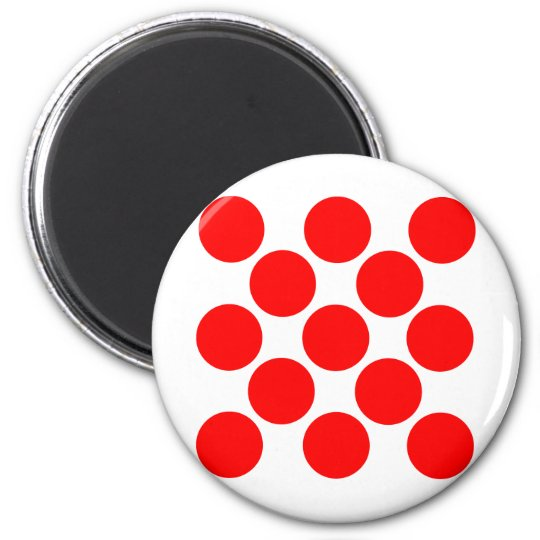 King of the Mountain dots Magnet
