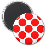King of the Mountain dots Refrigerator Magnet