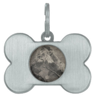 King of the Mountain Pet ID Tags