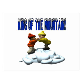 King Of The Mountain Postcard