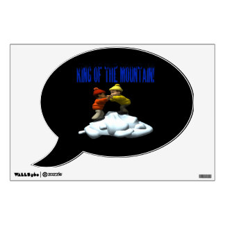King Of The Mountain Wall Decal