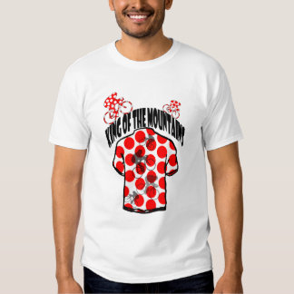King of the mountains Cycling in France 2014 Tee Shirt