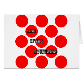 King of the Mountains Dots Card