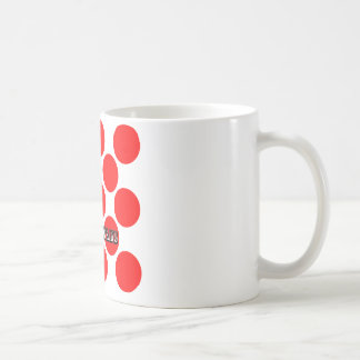 King of the Mountains Dots Coffee Mug