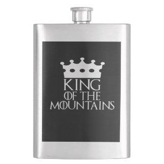 King of the Mountains, #Mountains Flask