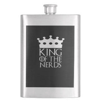King of the Nerds, #Nerds Flask