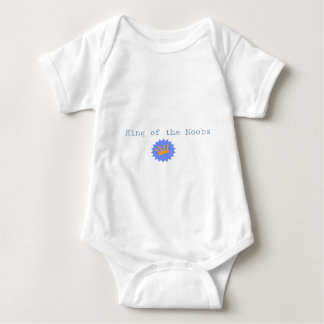 King of the Noobs Baby Bodysuit