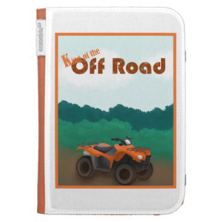 King of the Off Road Kindle Case