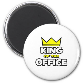 King of the Office Magnet