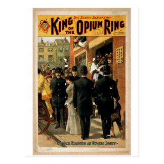 King of the Opium Ring Post Card