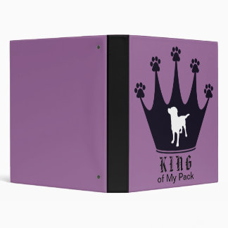 King of the Pack 3 Ring Binders