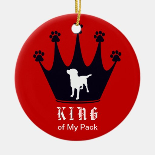 King of the Pack Ornament