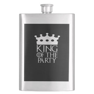 King of the Party, #Party Flask