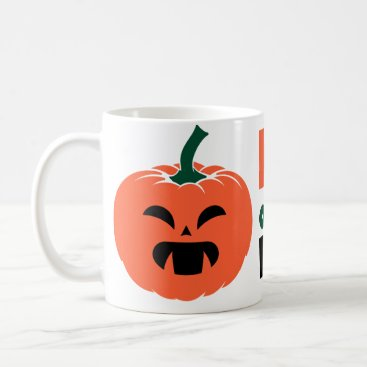 Halloween Themed King of the patch Halloween pumpkin Creepy orange Coffee Mug