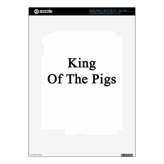 King Of The Pigs Decal For iPad 3
