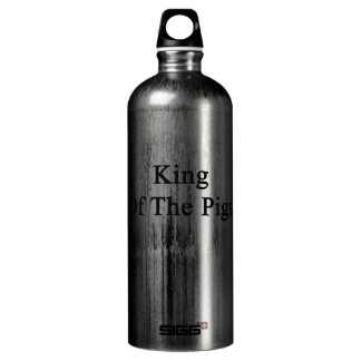 King Of The Pigs Water Bottle