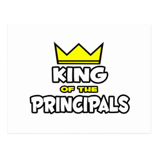 King of the Principals Postcard