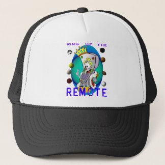 KING of the REMOTE Trucker Hat