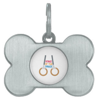 King of the Rings Pet ID Tag