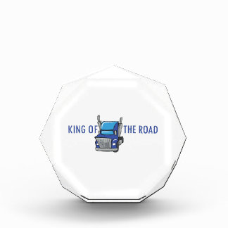 KING OF THE ROAD ACRYLIC AWARD