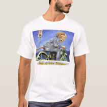 """king of the road"" by Will Bullas T-Shirt"