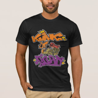 King Of The Road Graffiti Art T-Shirt